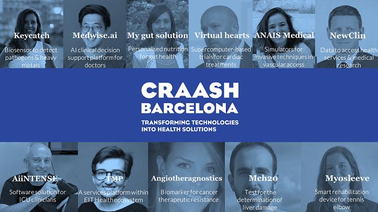 Els 11 projectes escollits per participar a la 3a edició de CRAASH Barcelona